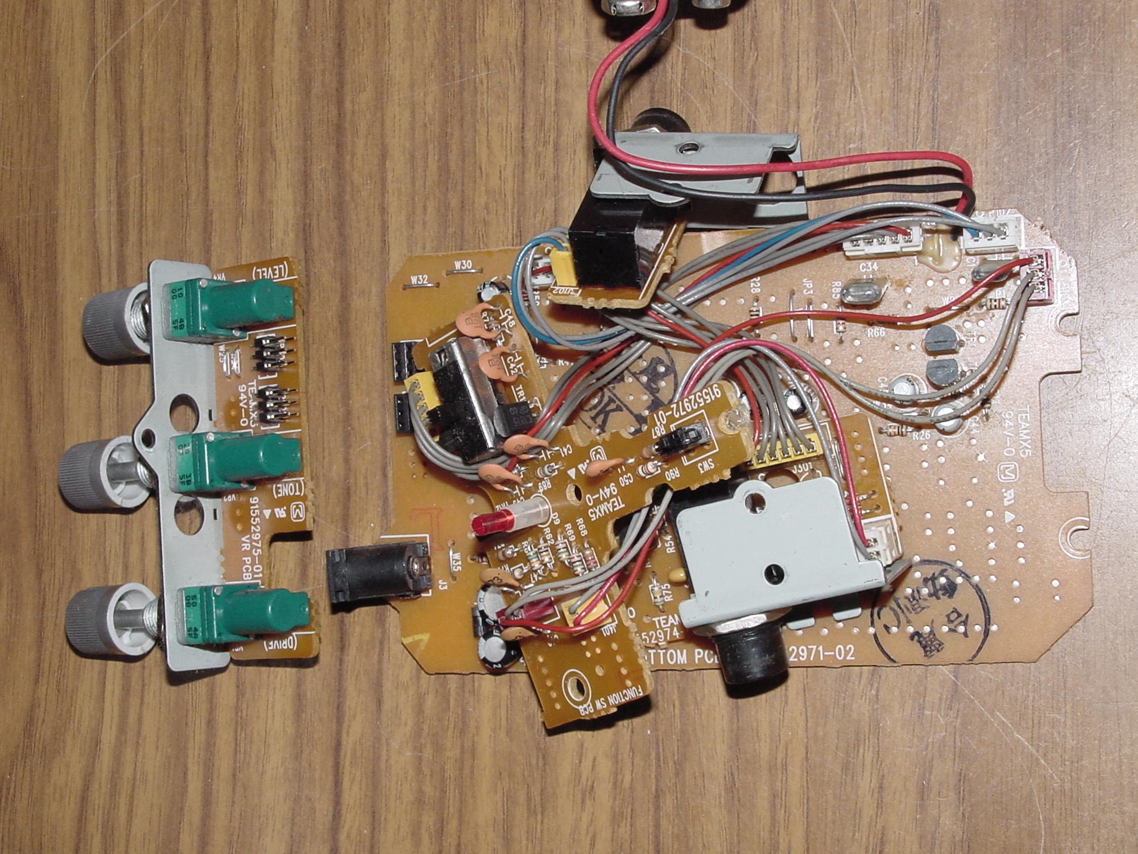 Ibanez TS7 TubeScreamer 分解検証&回路図|ギター・エフェクターの自作
